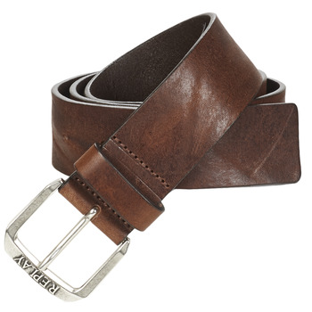 Clothes accessories Men Belts Replay  Brown