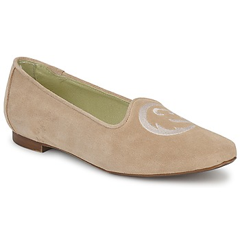 Shoes Women Loafers Stephane Gontard CALK BEIGE