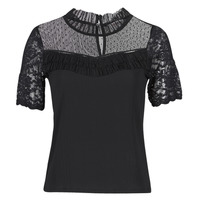 material Women short-sleeved t-shirts Morgan DANY Black