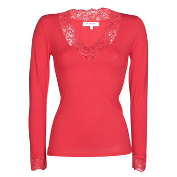 material Women Long sleeved shirts Morgan TRACY Red