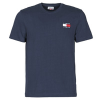 material Men short-sleeved t-shirts Tommy Jeans TJM TOMMY BADGE TEE Marine