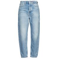 material Women Boyfriend jeans Tommy Jeans MOM JEAN ULTRA HR TPRD EMF SPLBR Blue / Clear