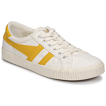 Shoes Women Low top trainers Gola TENNIS MARK COX Beige / Yellow