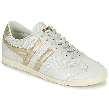 Shoes Women Low top trainers Gola BULLET LIZARD Beige / Gold