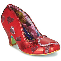 Shoes Women Court shoes Irregular Choice HEART ON YOUR SLEEVE Red