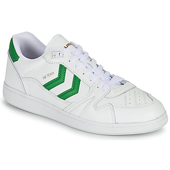 Shoes Men Low top trainers Hummel HB TEAM White / Green