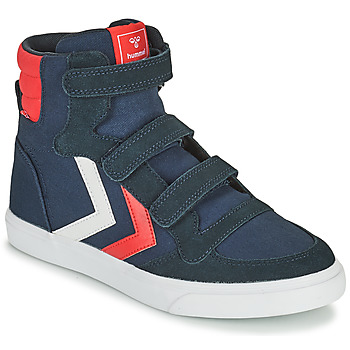 Shoes Children High top trainers Hummel STADIL HIGH JR Blue