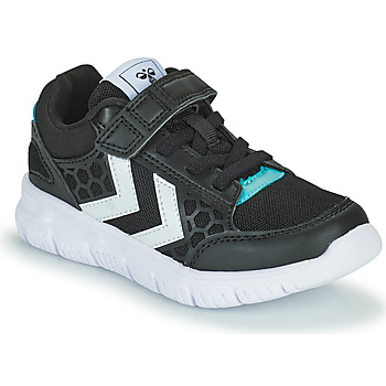 Shoes Children Low top trainers Hummel CROSSLITE JR Black