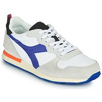 Shoes Men Low top trainers Diadora CAMARO ICONA White / Blue