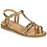 Shoes Women Sandals Karston SOREN Gold