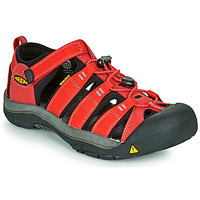 Shoes Children Sports sandals Keen NEWPORT H2 Red