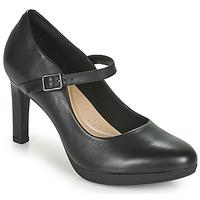 Shoes Women Court shoes Clarks AMBYR SHINE Black