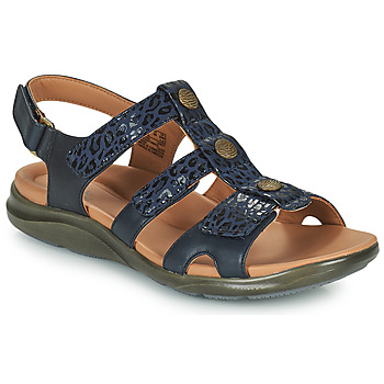 Shoes Women Sandals Clarks KYLYN STEP Blue