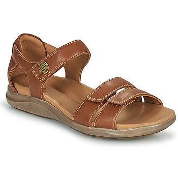 Shoes Women Sandals Clarks KYLYN STRAP Beige
