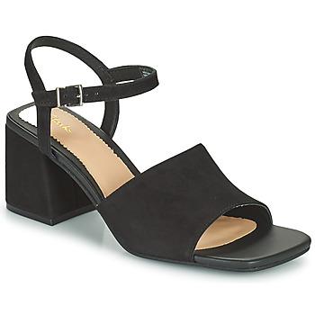 Shoes Women Sandals Clarks SHEER65 BLOCK Black