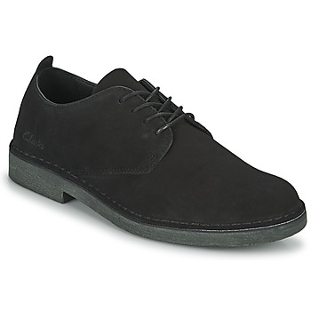 Shoes Men Derby shoes Clarks DESERTLONDON2 Black