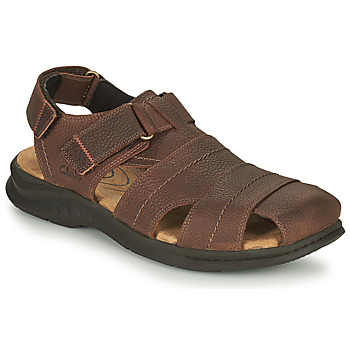 Shoes Men Sports sandals Clarks HAPSFORD COVE Brown