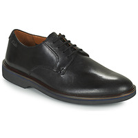 Shoes Men Derby shoes Clarks MALWOOD PLAIN Black