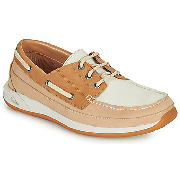Shoes Men Boat shoes Clarks ORMAND BOAT Beige