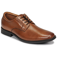 Shoes Men Derby shoes Clarks Tilden Plain Brown
