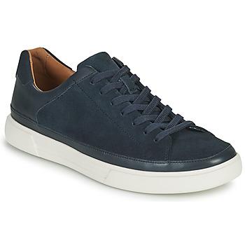 Shoes Men Low top trainers Clarks UN COSTA TIE Blue