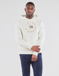 material Men sweaters Tommy Hilfiger ICON COIN HOODY White