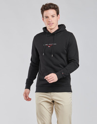 material Men sweaters Tommy Hilfiger ESSENTIAL TOMMY HOODY Black