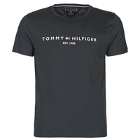 material Men short-sleeved t-shirts Tommy Hilfiger CORE TOMMY LOGO Black