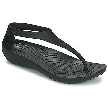 Shoes Women Flip flops Crocs CROCS SERENA FLIP W Black