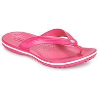 Shoes Children Flip flops Crocs CROCBAND FLIP GS Pink