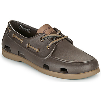 Shoes Men Boat shoes Crocs CLASSIC BOAT SHOE M Brown