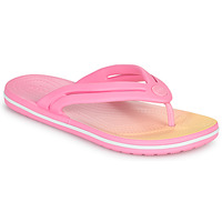 Shoes Women Flip flops Crocs CROCBAND OMBRE FLIP W Pink