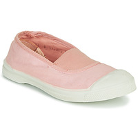 Shoes Girl Low top trainers Bensimon TENNIS ELASTIQUE Pink