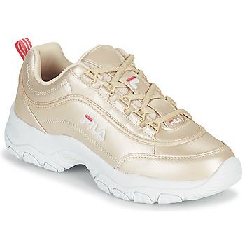 Shoes Women Low top trainers Fila STRADA F WMN Gold