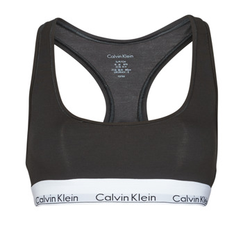 Underwear Women Sports bras Calvin Klein Jeans MODERN COTTON UNLINED BRALETTE Black