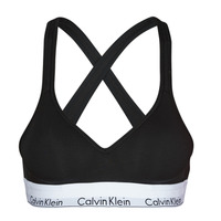 Underwear Women Sports bras Calvin Klein Jeans MODERN COTTON BRALETTE LIFT Black