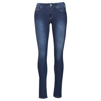 material Women Skinny jeans Replay NEW LUZ Blue / Medium
