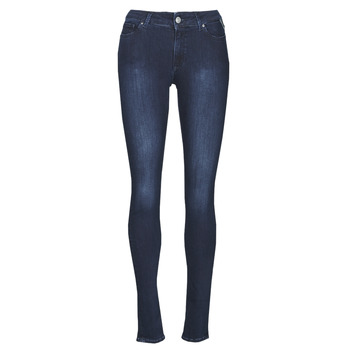 material Women Skinny jeans Replay NEW LUZ Blue / Dark