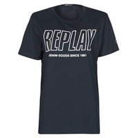 material Men short-sleeved t-shirts Replay  Marine