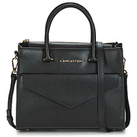Bags Women Handbags LANCASTER SAFFIANO SIGNATURE 10 Black