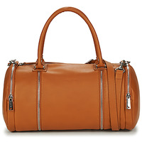 Bags Women Shoulder bags LANCASTER SOFT NAPPA 3 Camel