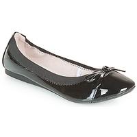 Shoes Women Ballerinas Moony Mood ELALA Varnish / Black