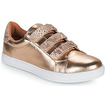 Shoes Women Low top trainers Moony Mood OCHIC Gold