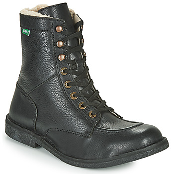 Shoes Men Mid boots Kickers KICKSTONERY Black