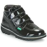 Shoes Children Mid boots Kickers NEOVELCRO Black