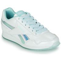 Shoes Girl Low top trainers Reebok Classic REEBOK ROYAL CLJOG 3.0 White / Blue
