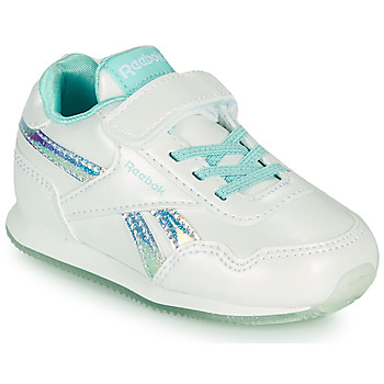 Shoes Girl Low top trainers Reebok Classic REEBOK ROYAL CLJOG 3.0 1V White / Silver