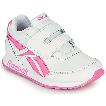 Shoes Girl Low top trainers Reebok Classic REEBOK ROYAL CLJOG 2 KC White / Pink