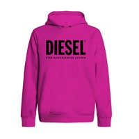material Girl sweaters Diesel SDIVISION LOGO Pink