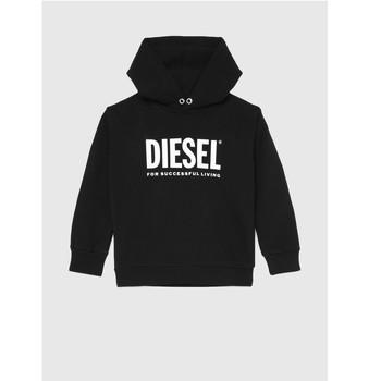 material Children sweaters Diesel SDIVISION LOGO Black